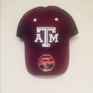 Texas A&M trucker hat by Zephyr.